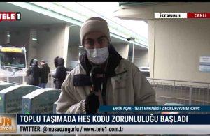 TELE1 Muhabiri Engin Açar, HES kodu zorunluluğu sonrası yurttaşlara mikrofon uzattı