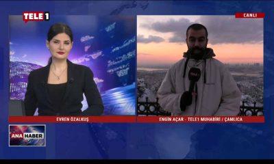 TELE1 muhabirlerinden hava durumuyla ilgili son gelişmeler – ANA HABER