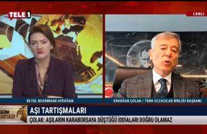 Aşılar karaborsaya mı düştü? Türk Eczacılar Birliği Başkanı Çolak açıkladı