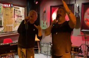 Cem Yılmaz ve Zafer Algöz'ün karaoke yaptığı anlar sosyal medyada gündem oldu
