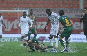 Alanyaspor – Sivasspor maçı ertelendi