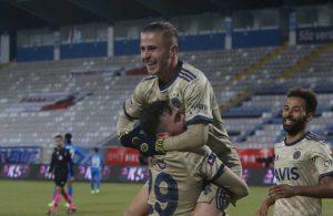 Fenerbahçe Erzurum'da 3 puanı 3 golle aldı