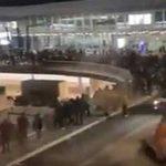 Frankfurt Havalimanı'nda kırmızı alarm: Terminal boşaltıldı!