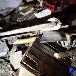 Metruk binada göçük: Anne ve 3 çocuğu enkaz altına kaldı