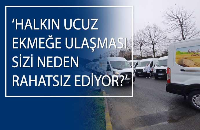 AKP Grubu, yoksul bölgelere gidecek mobil Halk Ekmek büfelerine itiraz etti!