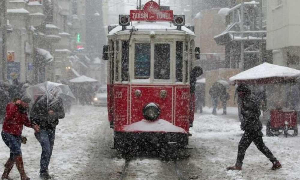 İstanbul Valiliği'nden kar yağışı uyarısı!