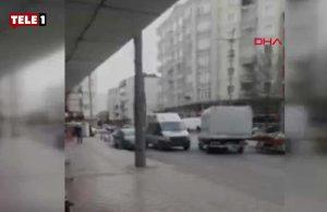 Samsun'da iş yerine pompalı tüfekle saldırmışlardı: Olay yerinden kaçış anları böyle görüntülendi