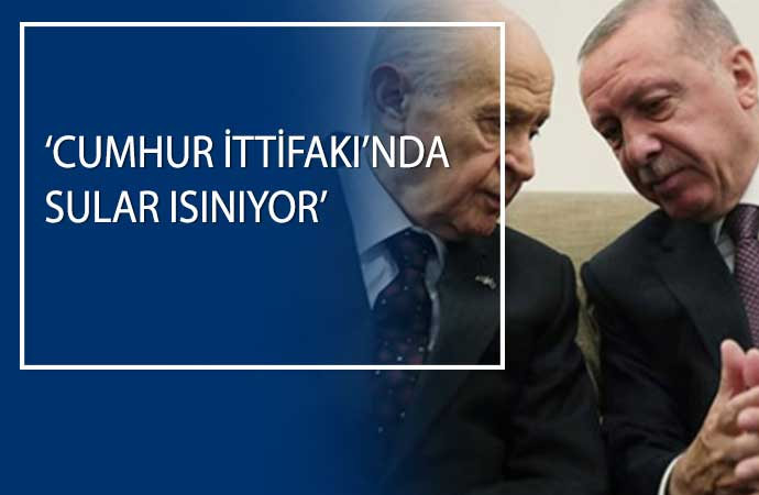 'Sadece AKP ile MHP arasında değil. Aynı zamanda AKP içinde de belli bir gerilim mevcut'