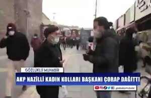 AKP'li seçmenden skandal yorum: 'Ülkemiz, partimiz büyüdükçe bir düzine çorap hatta takım elbise dağıtırız'