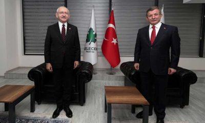 Kılıçdaroğlu ve Davutoğlu'ndan ortak açıklama: Eleştirileri beğenmezsek saldırıya uğrayabilirler mesajı iletilmiştir