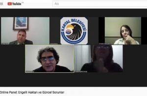 Kartal Belediyesi'nden engelli hakları ile ilgili online panel