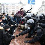 Navalny için yapılan protestolarda 3 bin kişi gözaltına alındı!