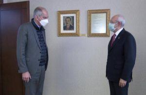 Kılıçdaroğlu, Fransa Büyükelçisi Herve Magro ile görüştü