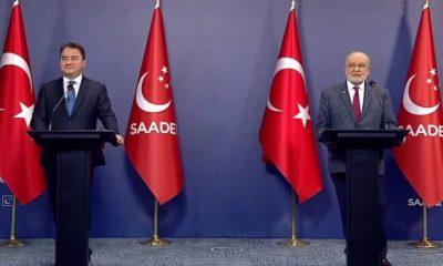 Saadet Partisi lideri Temel Karamollaoğlu'ndan Cumhur İttifakı açıklaması