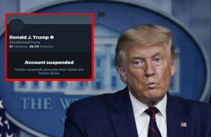 Twitter, Donald Trump'ın hesabını kalıcı olarak askıya aldı