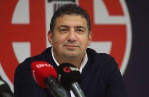 Antalyaspor'da başkan Ali Şafak Öztürk ve yönetim istifa etti