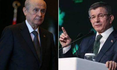 Davutoğlu'ndan Bahçeli'ye 'Serok Ahmet' tepkisi: Gerçek anlamda bölücülüktür