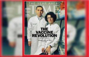 Time, Prof. Dr. Şahin ve Türeci'yi kapağına taşıdı