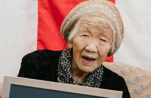 'Dünyanın en yaşlı insanı' doğum gününü kutladı