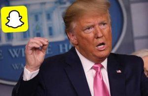 Snapchat, Trump'ın hesabını kapatacak