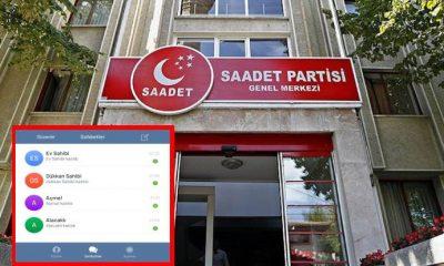 Saadet Partisi, Telegram hesabını kriz göndermeli mesajla duyurdu