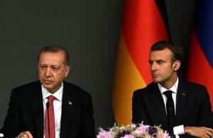 """""""Macron, Erdoğan'a mektup gönderdi"""""""