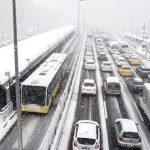 İstanbul için kuvvetli don ve buzlanma uyarısı
