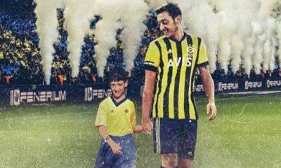 Mesut Özil'den Fenerbahçe formalı ilk paylaşım