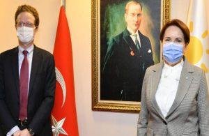 Akşener, AB Türkiye Delegasyonu Başkanı ve Fransa Büyükelçisi ile görüştü