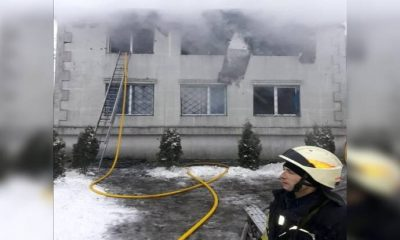 Ukrayna'da huzurevinde yangın faciası: Ölü ve yaralılar var
