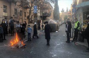İsrail'de de koronavirüs kısıtlamaları için sokağa çıktılar!