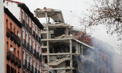 Madrid'de şiddetli patlama: Ölü ve yaralılar var!