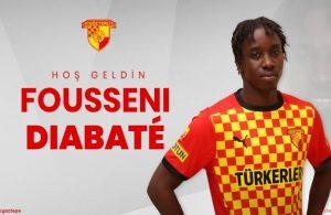 Trabzonsporlu Fousseni Diabate Göztepe'de