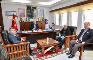 Bircan'dan Başkan Atabay'a ziyaret