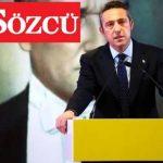 Fenerbahçe'den Sözcü kararı