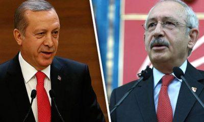 Erdoğan, Kılıçdaroğlu'na 'sözde cumhurbaşkanı' ifadesi nedeniyle tazminat davası açtı