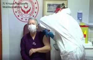 90 yaş üzeri yurttaşlar koronavirüs aşısı olmaya başladı