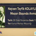 Neyzen Tevfik vefatının 68. yılında Kartal'da anılacak