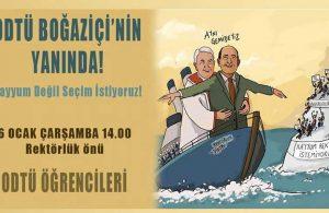 ODTÜ'den Boğaziçi Üniversitesi öğrencilerine destek!