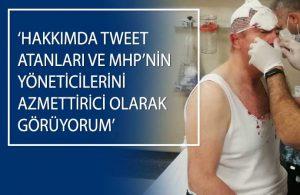 Ankara'da saldırıya uğrayan Selçuk Özdağ'dan TELE1'e açıklamalar