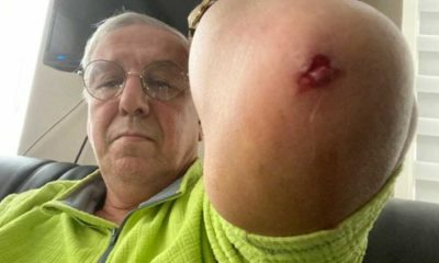 Gazeteci Orhan Uğurluoğlu'na yapılan saldırı kameraya yansıdı