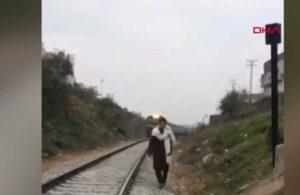 TikTok çekerken tren çarpan genç yaşamını yitirdi