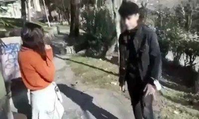 Görüntüler sosyal medyada yayılmıştı! Genç kadını darp eden şahıs serbest bırakıldı