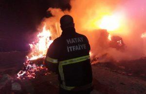Yangın 7 saatlik çalışma sonucu kontrol altına alındı