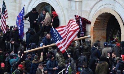 ABD, Kongre baskınının yeni görüntüleriyle resmen şok yaşadı!
