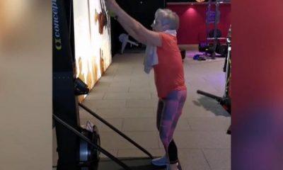 81 yaşındaki kadının fitness tutkusu herkesi şaşırttı!