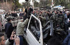 Afrin'de bombalı terör saldırısı! Ölü ve yaralılar var