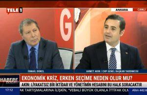 CHP Genel Başkan Yardımcısı Ahmet Akın: Bizi yönetenlerin kandırmacasıyla karşı karşıyayız – HABERE DOĞRU