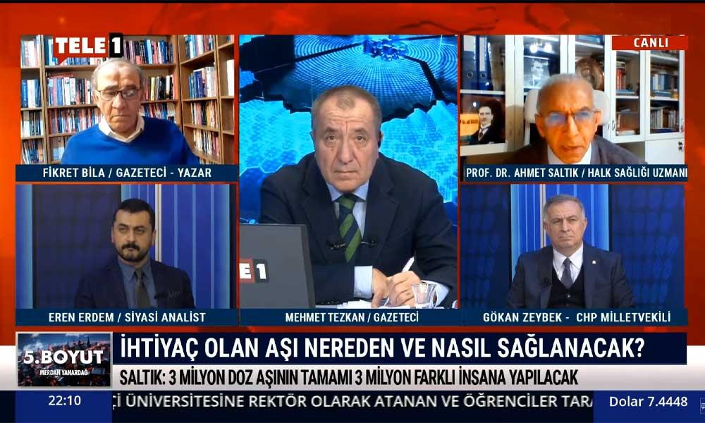 Halk Sağlığı Uzmanı Prof. Dr. Ahmet Saltık: Öyle bir durumdayız ki 4 hafta kapanma yetmiyor