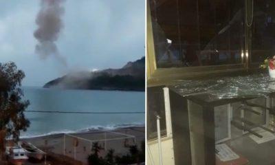 Akkuyu'daki patlama Kandilli kayıtlarına geçti!